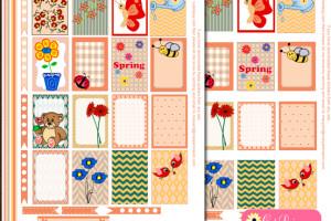 Free Printable Spring Stickers