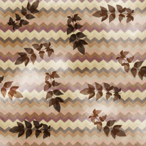 Free Printable Fall Scrapbook paper with leaves